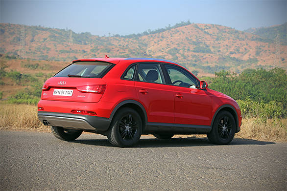 Despite the lack of some frills, the S still is very much an Audi SUV