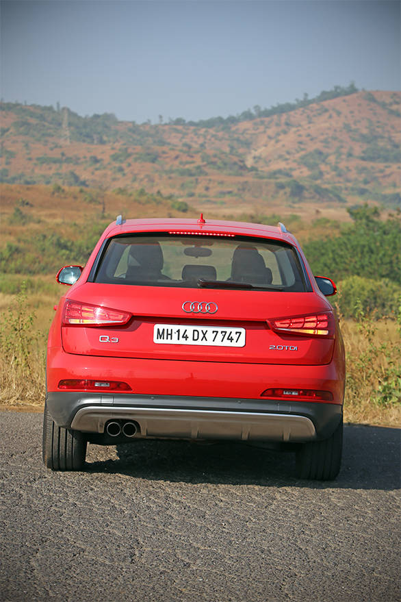 From the rear, the only give away that this is the S is the lack of LED tail lamps