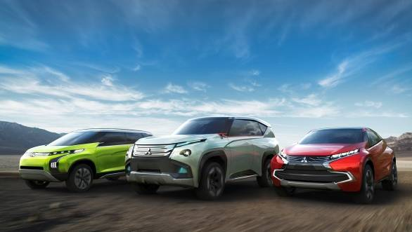 The Concept GC–PHEV, Concept XR-PHEV and the Concept AR were unveiled at the Tokyo Motor Show