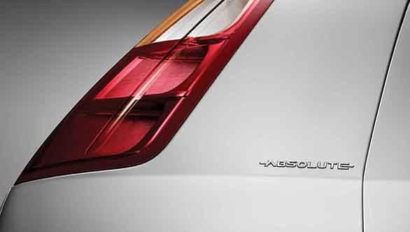 Fiat Punto Absolute Edition body branding