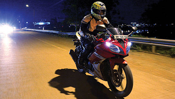 Hardest time to ride? Riding in the night