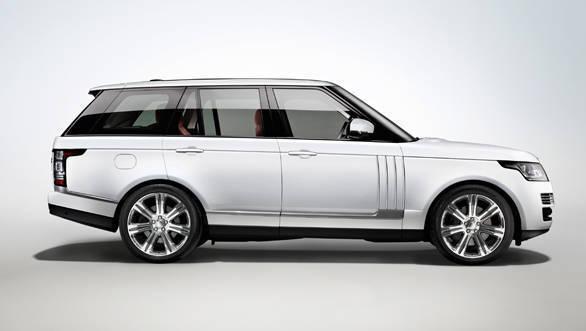 The Range Rover Autobiography long wheelbase
