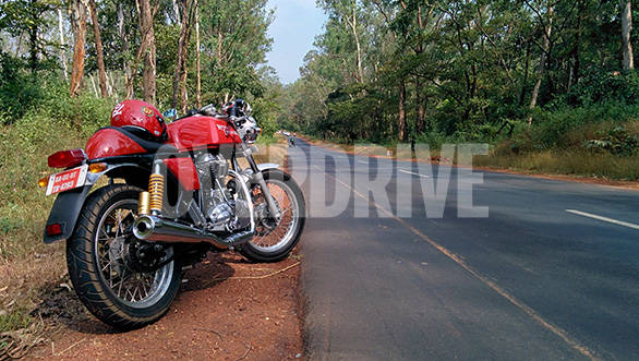 Royal Enfield Continental GT India road test