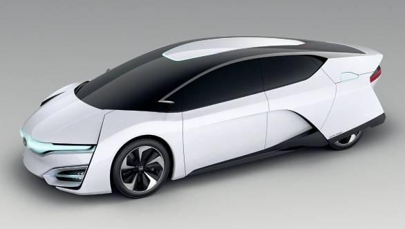 The Honda FCEV Concept