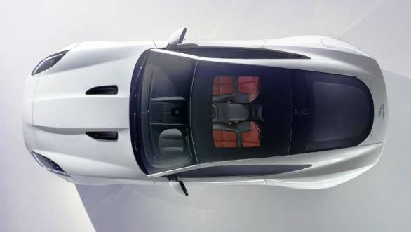 The F-Type Coupe is based on the C-X16 concept that Jaguar revealed at the 2011 Frankfurt Show