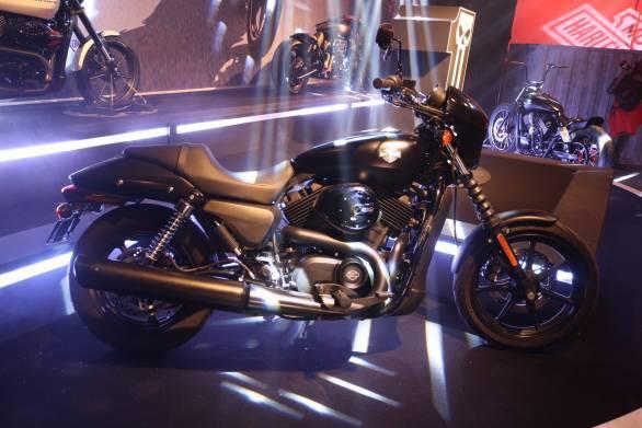 The Street 500 gets Harley Davidson's new Revolution X engine