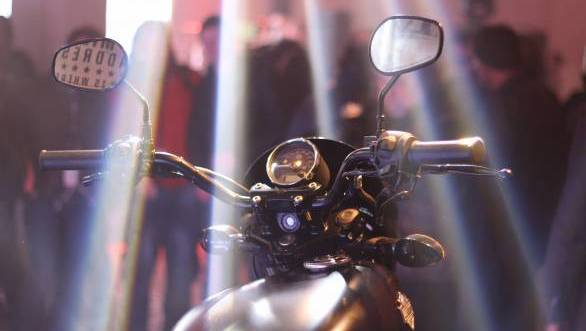 The Street 500 was unveiled at 2013 EICMA in Milan