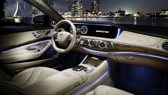 Two new features that make their debut in the S65 are head-up display and a touchpad