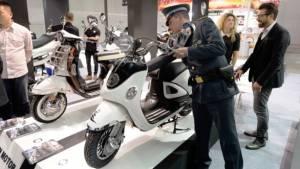 Fake Vespas seized at EICMA 2013
