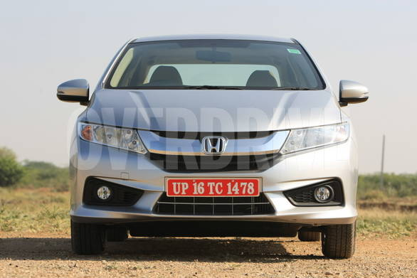 the new 'Exciting-H' design language debuts in India with the Honda city.