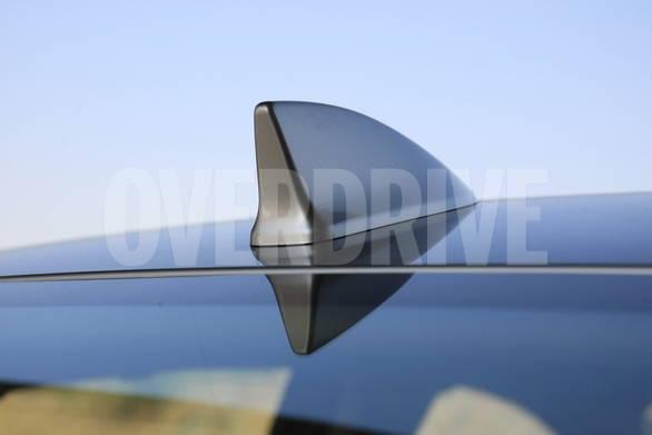 Shark fin antenna is part of the standard equipment.