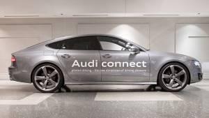 Audi showcases self-driving car at CES 2014