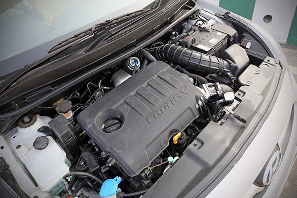 Hyundai Verna 1.6 CRDi engine