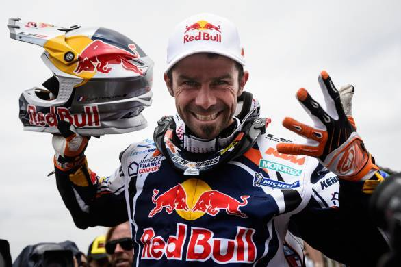 Cyril Despres has five wins on two wheels to his credit and will be gunning for a sixth