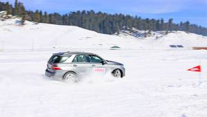Watch Omar Abdullah and Abhay Deol drifting at OVERDRIVE's Winter Drive
