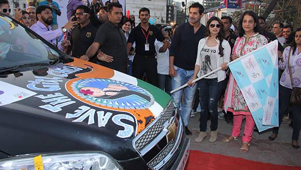 Lavasa officials at last year's Women's Drive