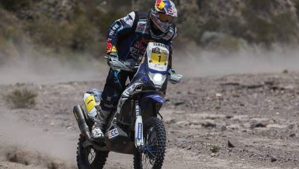 Cyril Despres will be hoping he can make a quick recovery from his sluggish start to the Dakar