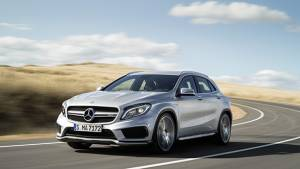 2014 Mercedes GLA45 AMG photos and video