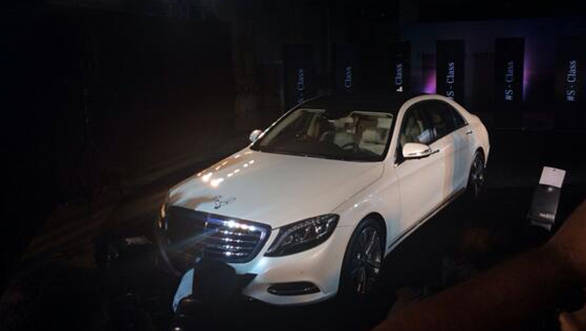 The S-Class has finally being unveiled