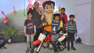 Honda and Chhota Bheem join hands to promote road safety among kids in India