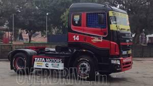 Tata Motors unveils Tata T1 Prima Truck Racing Championship