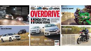 OVERDRIVE February 2014 issue out on stands