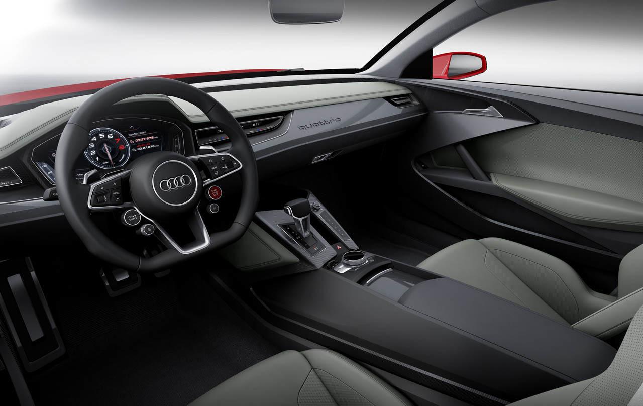 The Audi Sport Quattro Laserlight concept