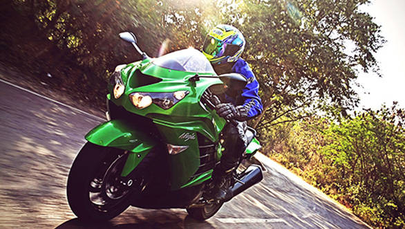 2014 Kawasaki ZX-14R India first ride