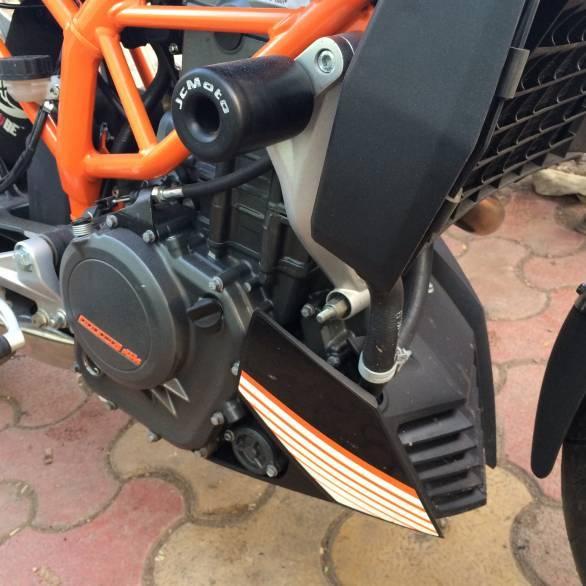 JC Moto crash protection