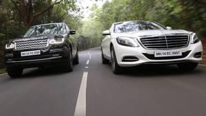 2014 Mercedes-Benz S-Class vs Range Rover Autobiography