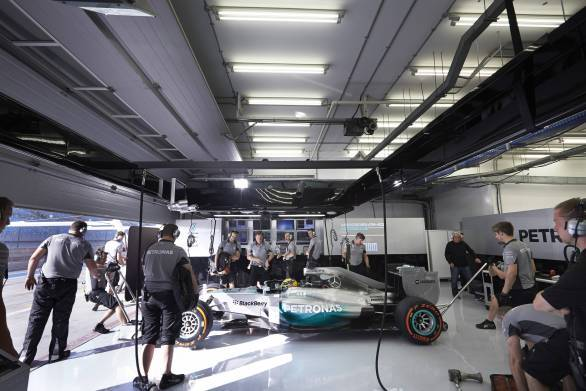 Mercedes have the most reliable engine and ERS so far after the two test