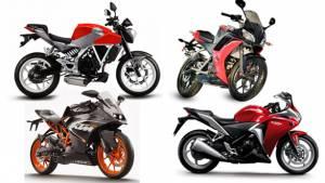 Spec comparison: Hero HX250R vs Honda CBR250R vs Hyosung GD250N vs KTM RC200