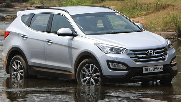 2014 Hyundai Santa Fe India Image Gallery Overdrive