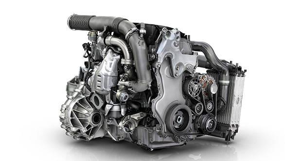 Renault twin turbo diesel engine