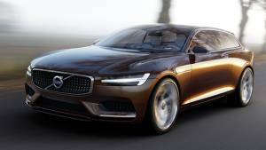 Volvo's Concept Estate set for Geneva debut