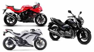 Spec comparison: Hyosung GT250R vs Kawasaki Ninja 300 vs Suzuki Inazuma GW250