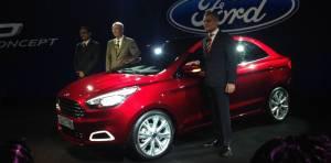 Ford Figo concept sedan unveiled in India