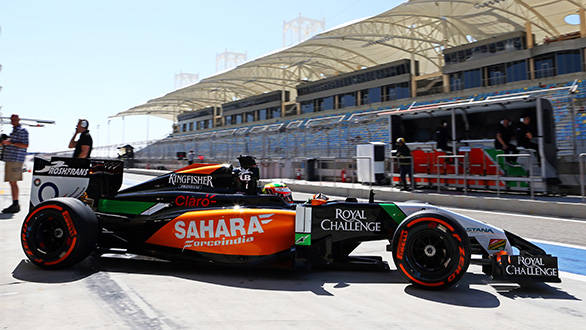 Force India started from where they left last season, VJM07 has met team's expectations during the preseason tests