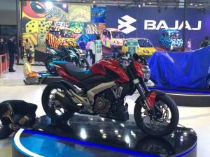 2014 Auto Expo: Bajaj CS400 image gallery