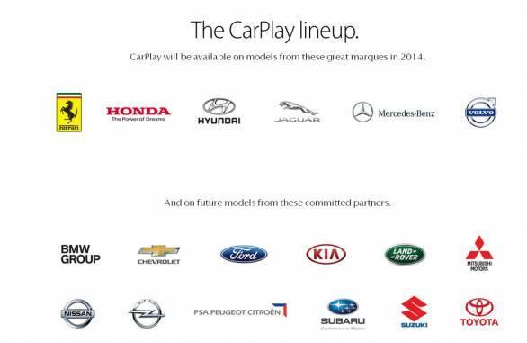Apple CarPlaycars