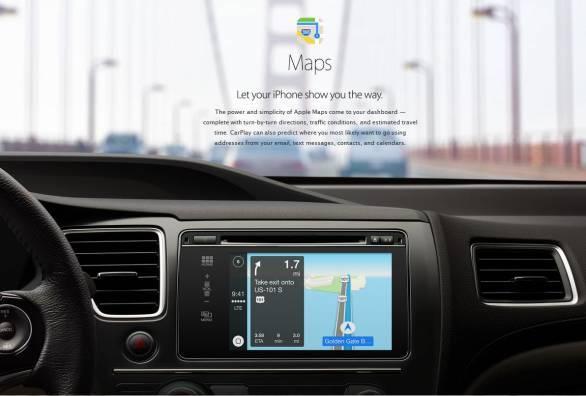 Apple CarPlaymaps