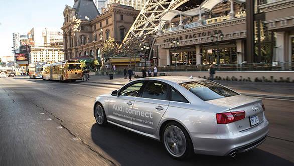 Audi traffic integration system