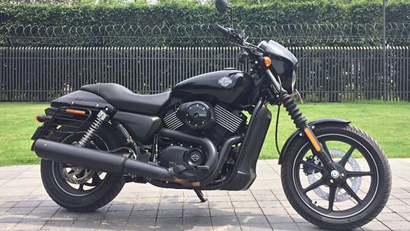 Harley-Davidson Street 750 First Ride