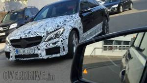 Spied: 2015 Mercedes-Benz C63 AMG in Germany