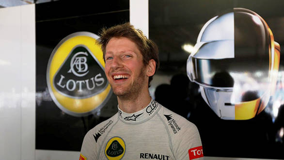 Lotus hasn't performed well during testing, Grosjean has his work cut out for him this year