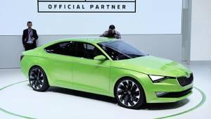 Geneva Auto Show 2014: Skoda VisionC design concept unveiled