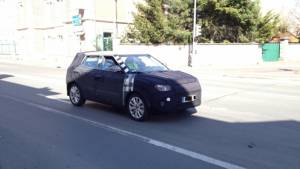 SsangYong XLV compact SUV caught testing in France