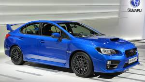 Geneva Auto Show 2014: Subaru unveils WRX STI saloon and Viziv 2 concept