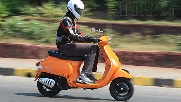 2014 Vespa S India first ride