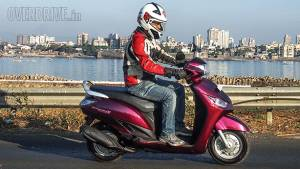 2014 Yamaha Alpha India road test